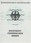 Prüfungsanmeldung zum Sportbootführerschein Binnen am 28.02.2015 in Nürnberg