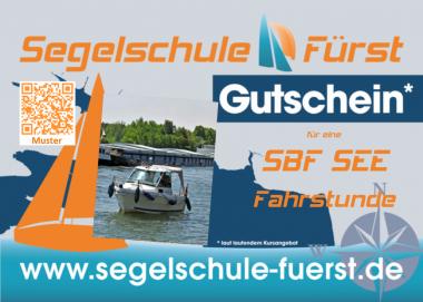Gutschein Fahrstunde Sportbootführerschein SeeSchStr