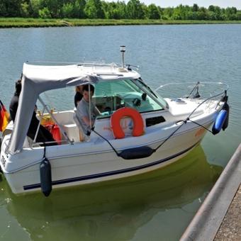 Fahrstunde Sportbootführerschein Binnenschifffahrtsstraßen
