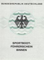 Prüfungsanmeldung zum Sportbootführerschein Binnen am 13.10.2018