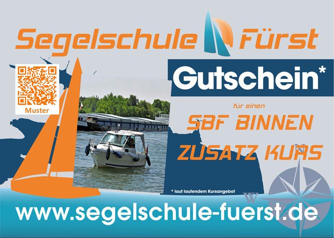 Gutschein Zusatzkurs Sportbootführerschein BinnenSchStr