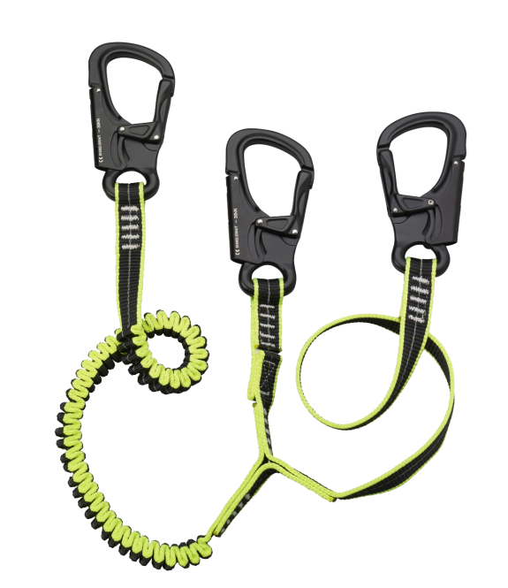 Plastimo tethers with premium aluminium safety hooks